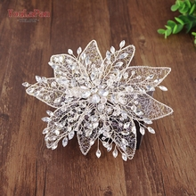 YouLaPan HP217 Free Shipping Wedding Hair accessories Rhinestone Bridal headwears flowers crown Vintage wedding headwear