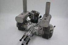 RCGF motor de gasolina/gasolina de doble cilindro, 60cc, para Avión RC