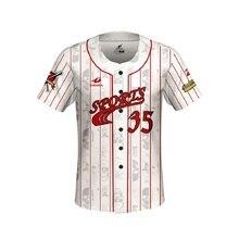 Custom Baseball Jersey T Shirt Tops Short Sleeve Design Name Number Breathable Maillot Baseball Homme Camiseta Jersey Beisbol short sleeve button up lion print baseball jersey