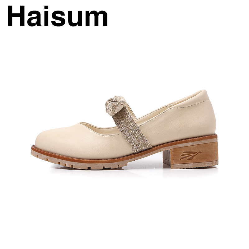 Bow shallow mouth single sneakers retro wild with style faculty model autumn H-Q-Three Ladies's Pumps, Low-cost Ladies's Pumps, Bow shallow mouth single sneakers retro wild with style faculty model...