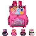 De alta Qualidade Crianças Mochilas Escolares Ortopédicos 2016 Menina Monster High Princesa Mochila Crianças Mochila mochila infantil À Prova D' Água