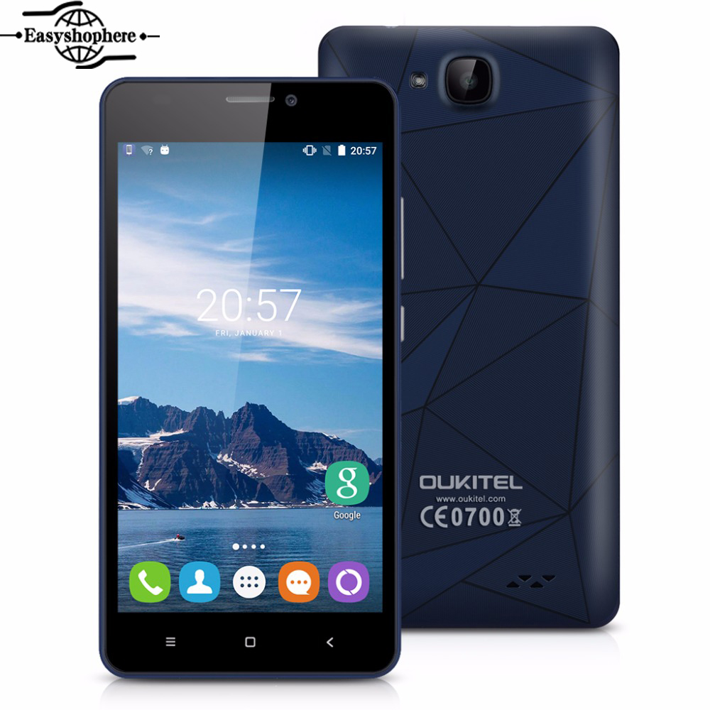 5 0 inch oukitel c3 smartphone mt6580 1 3ghz 1gb ram 8gb. Black Bedroom Furniture Sets. Home Design Ideas