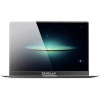 Zeuslap 15,6 дюйма 6 ГБ ОЗУ 256 ГБ SSD Win10 1920X 1080P IPS экран ультратонкий быстрая загрузка дешевый ноутбук Нетбуки Тетрадь компьютер pc