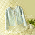 [Aamina] Fall / Autumn lace quality girls coat,kids cardigan outcoat,wholesale china baby boutique clothing 15 pcs/lot--#3945