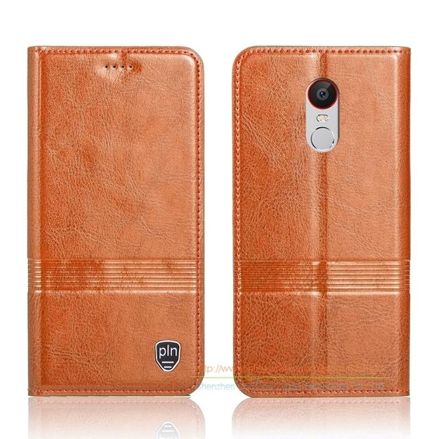 """Genuíno do vintage de Couro Flip Stand Case Para ZTE Núbia Z11 MAX 6.0 """"Telefone Celular de luxo Capa de Couro do couro & Micro Ímã Invisível"""
