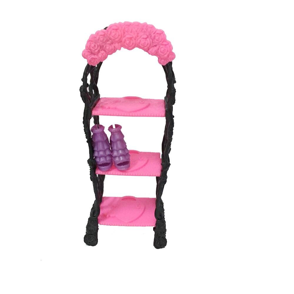 Dzieci Playhouse Buty Rack Dla Lalka Barbie Regały Magazynowe Dla ...