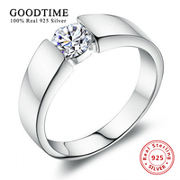Men S Sterling Silver Jewelry Fashion Rings 100 925 Sterling Silver Ring Set 1 Carat SONA