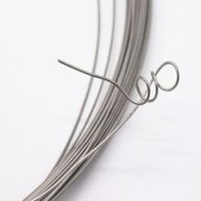 0,1 мм-5 мм, 1 кг, 304 жесткая проволока из нержавеющей стали, одиночная линия лофтинга лифта, на ощупь более жесткая, яркая и стойкая