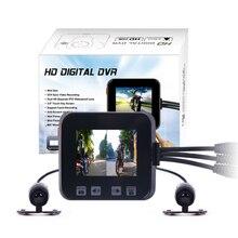 Оригинальный C6 автомобильный черный ящик с двумя объективами Full HD 720 P мотоциклетные dvr камеры, поддержка камеры автомобиля GPS и g-сенсор