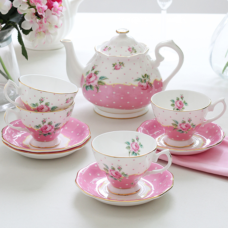 Porcelaine Européenne Céramique Café Ensemble Thé Ensemble Britannique Après-Midi Café Tasse Et Soucoupe Rétro
