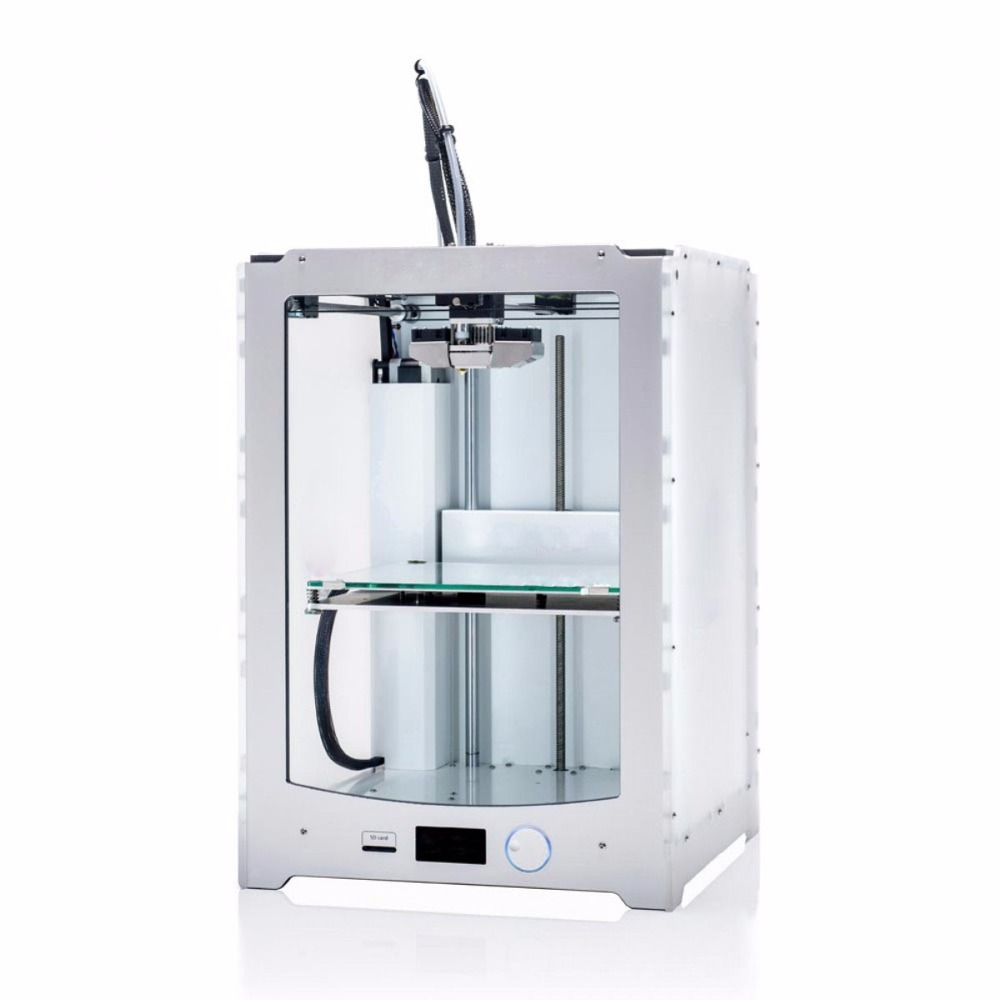 Blurolls Ultimaker 2 Extended+ 3D printer full kit 1.75mm metal extruder (not assemble) single nozzle UM2 Extended+ 3D printer double color m6 3d printer 2017 high quality dual extruder full metal printers 3d with free pla filaments 1set gift
