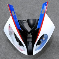 Motorcycle Front Upper Fairing Headlight Cowl Nose Fit For S1000RR 2015 2016