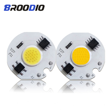 цена на COB LED Lamp Chip AC 110V 220V LEDs Bulb Light Smart IC No Need Driver 3W 5W 7W 10W 12W Warm White Lamps Flood Spotlight LED DIY