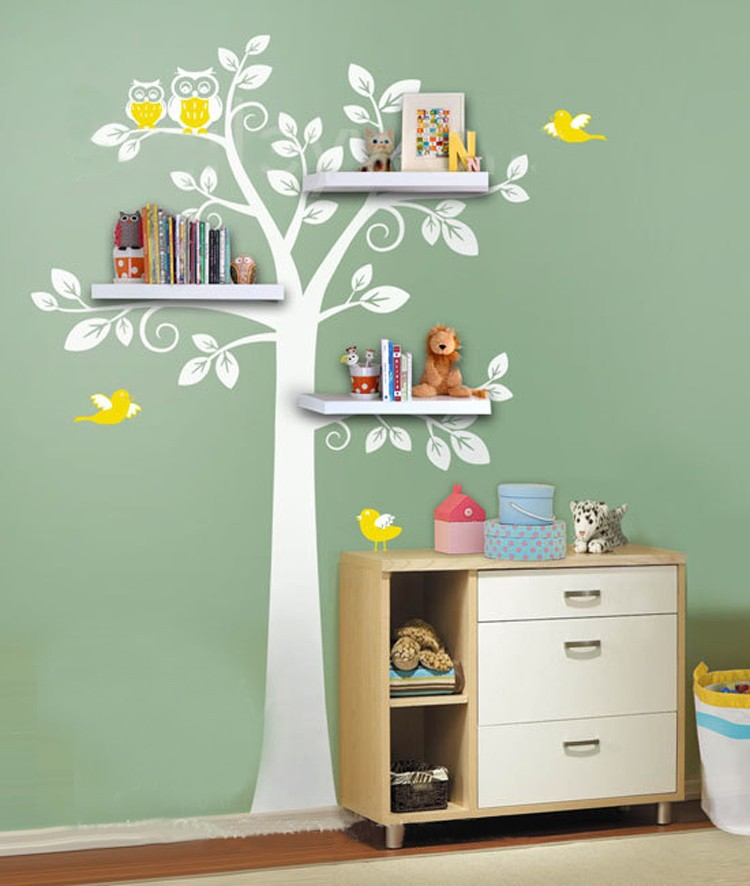 Kids Bedroom Wall Shelves online get cheap tree wall shelf -aliexpress | alibaba group