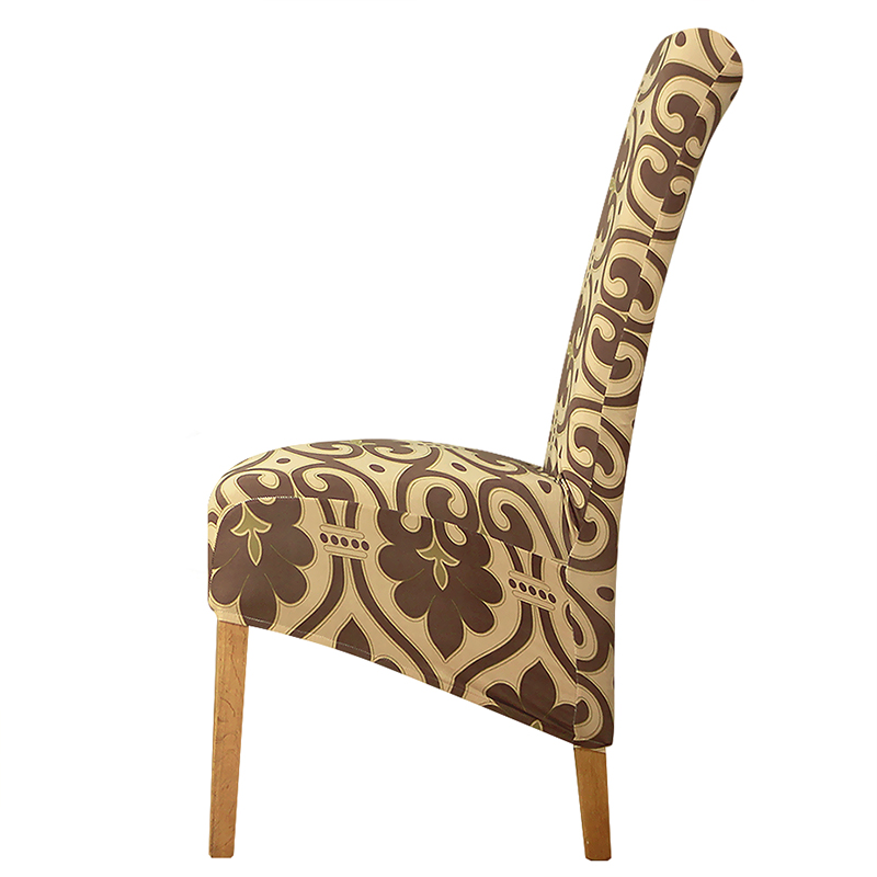 long back Chair Cover Large XL Size Europe style high back Seat Covers universal  Restaurant Hotel Party Banquet Slipcovers home