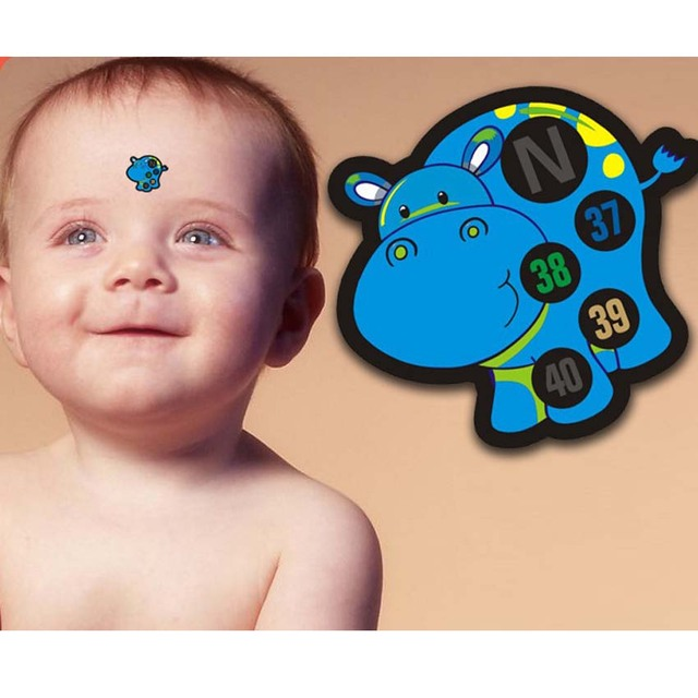 Baby Cartoon Forehead Thermometer