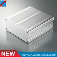 aluminum extruded project enclosure anodized aluminum pcb box YGK-022 97*40*120mm цена 2017