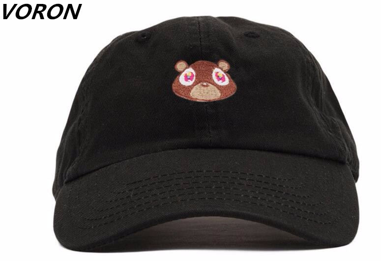 NMG-01 Men and Women Dad Hat Bear-1 Unisex Hip-Hop Baseball Caps