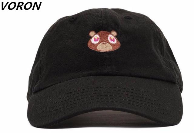 Kanye West Ye Bear Dad Hat Lovely Baseball Cap Summer For Men Women  Snapback Caps Unisex Exclusive Release Hip Hop Hot Style Hat 71d16a0cfc4