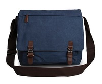 High Quality 16Oz Canvas Blue Durable Messenger Bag Cross Body 9027K