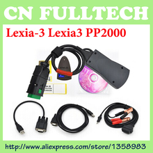 2016 New Lexia 3 V48 Diagbox V7.65 Lexia3 PP2000 for Citroen for Peugeot Professional Diagnostic Tool Free Shipping