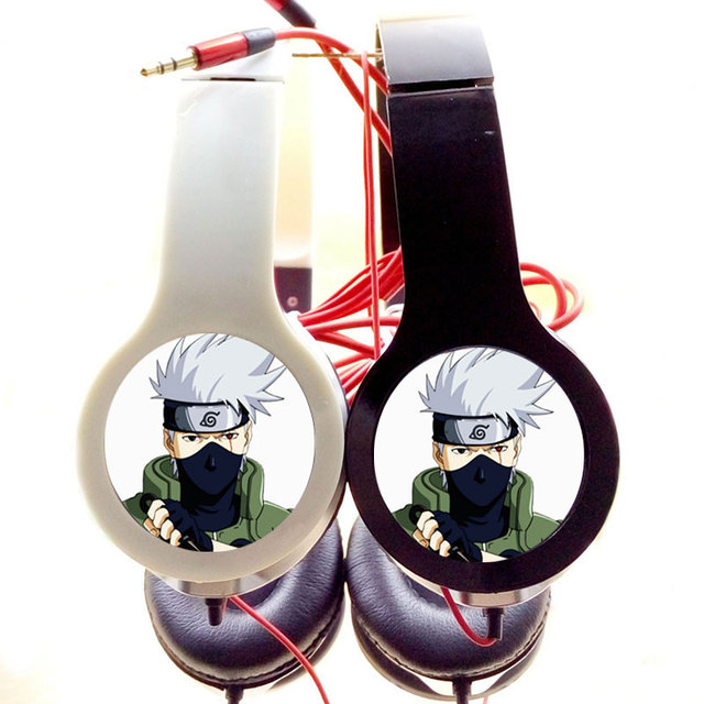 Naruto Stereo Headphones for Iphone Samsung MP3 PSP