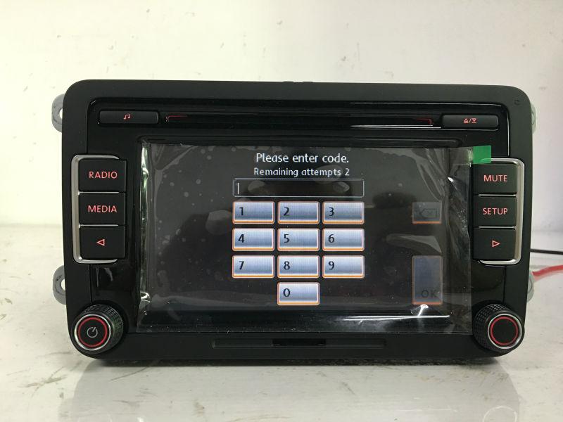 DHL Original 6CD Player Car Radio Stereo RCD510 Code USB AUX MP3 VW Golf 5 6 Jetta MK5 MK6 Passat B6 CC Tiguan - BDL co,Ltd-The World Of Accessories store