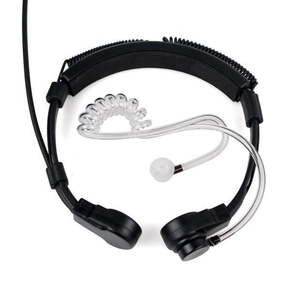 New Finger PTT Throat MIC Headphone (7)