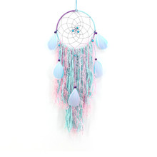 Indian Dreamcatcher Creative Feather Wind Chimes Handmade Pendant Ethnic Crafts lace tassel garden decoration wind chimes