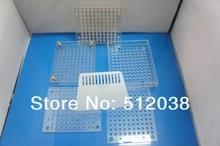 Máquina de llenado de cápsulas, 100 cavidad de llenado de cápsulas manual con la herramienta del apisonamiento, se puede personalizar para 00 #0 #1 #2 #3 #4 #5 # tamaño