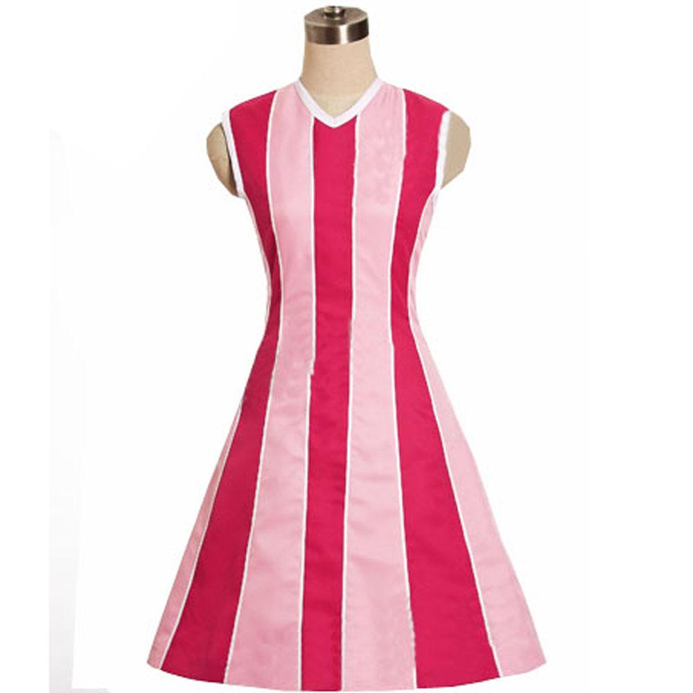 Lazy Town Cosplay Lazytown Stephanie Cosplay  Costume Dress Custom Made