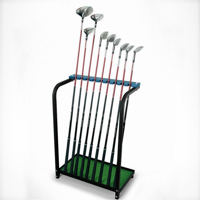 PGM Golf Club Rack Show Rack Steel Green Club Rack Receives Driving Ground Supplies