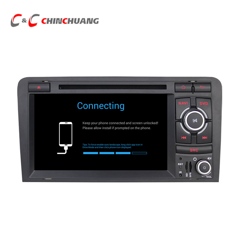 2GB RAM 32G ROM Android 6.0 Car Radio Multimedia DVD Player for Audi A3 S3 RS3 2003-2012 GPS Navi BT SWC WiFi ,Support OBD DAB+