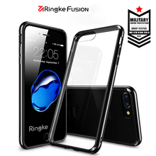 100% original Ringke Fusion clear phone case for Apple iPhone 7/7 plus luxury high-quality DROP transparent cover for iPhone7