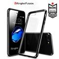 100% original fusão ringke transparente phone case para apple iphone 7/7 mais queda de luxo de alta qualidade tampa transparente para iphone7