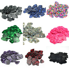 Lots of 100pcs Celluloid Guitar Picks Heavy 0.96mm Multi Colors