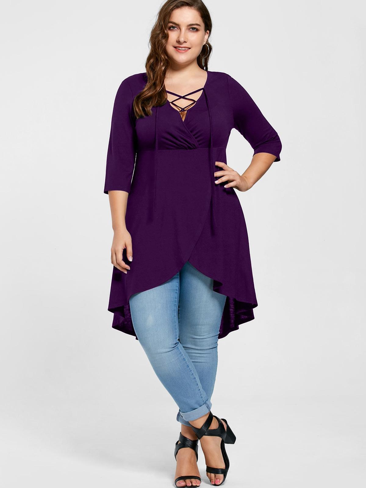 234d421396c97 Shirt Length  Long Sleeve Length  Three Quarter Collar  V-Neck Style  Casual  Season  Fall