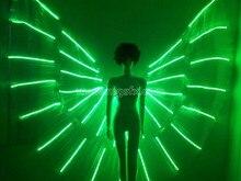 LED танцевальное крыло/LED крыло/костюм с подсветкой/светящийся/iluminated/светящийся костюм