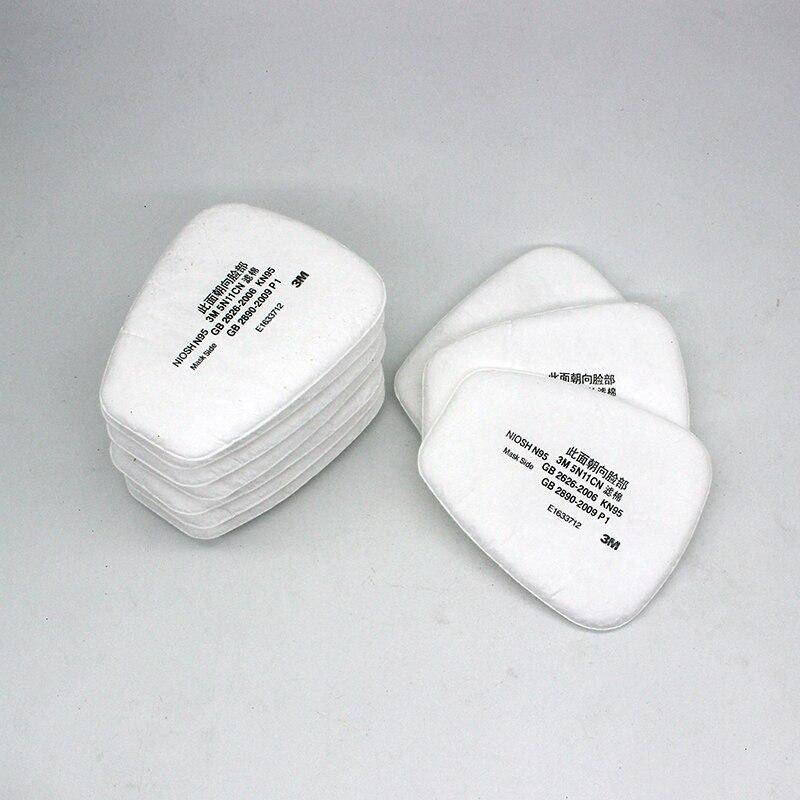 10 PCS 5N11 Filtres Respiratoires Coton Masque À Gaz Masque Respiratoire Remplacement fit pour 5000 6000 Série Cartouches N95