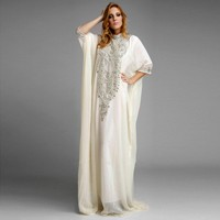 2014-Hot-Sale-Abaya-In-Dubai-White-Chiffon-Crystal-Beading-Arabic-Dress-Moroccan-Kaftan-Arabic-Kaftan