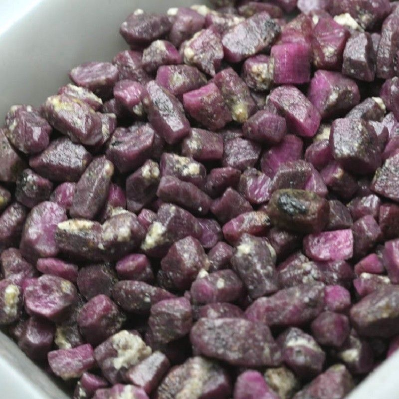 100g High Quality Red Ruby Reiki Healing Sapphire Raw Gemstone Specimen Natural Stones and Minerals