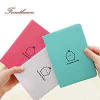2015 2016 Cute Kawaii Notebook Cartoon Molang Rabbit Journal Diary Planner Notepad For Kids Gift Korean