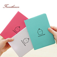 2015 2016 Cute Kawaii Notebook Cartoon Molang Rabbit Journal Diary Planner Notepad For Kids Gift Korean