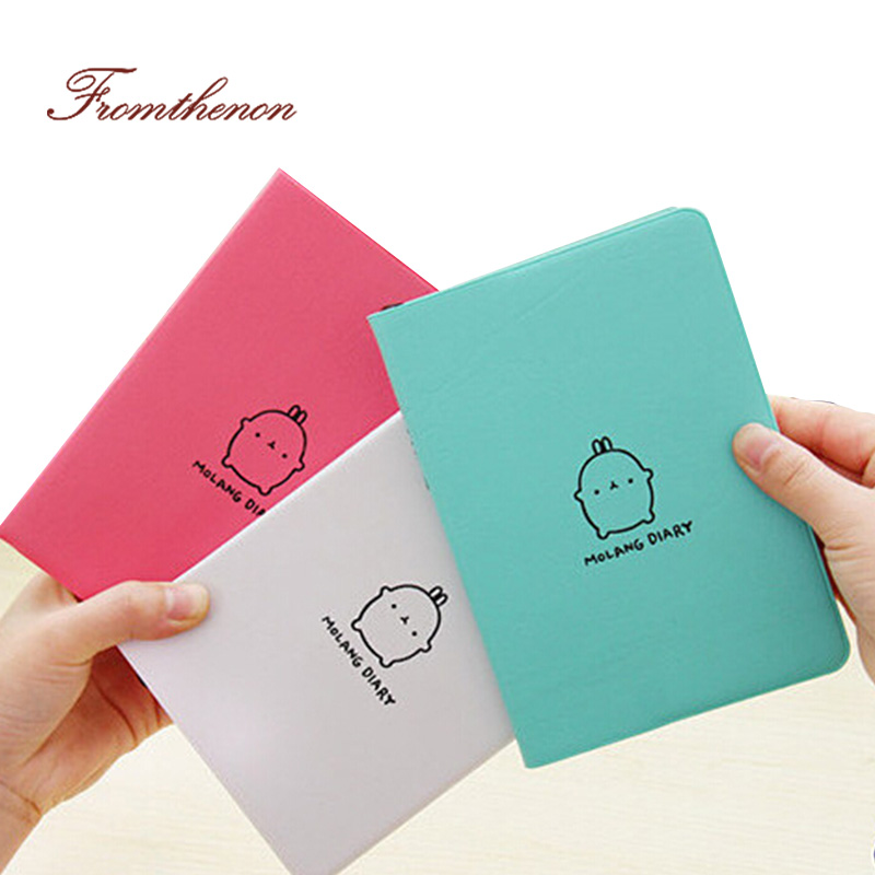 2018-2019 Cute Kawaii Notebook Cartoon Cute Lovely Journal Diary Planner Notepad For Kids Gift Korean Stationery Notebook School