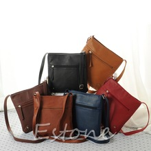купить New Fashion Womens Faux Leather Satchel Cross Body Shoulder Messenger Bag Handbag Gift дешево