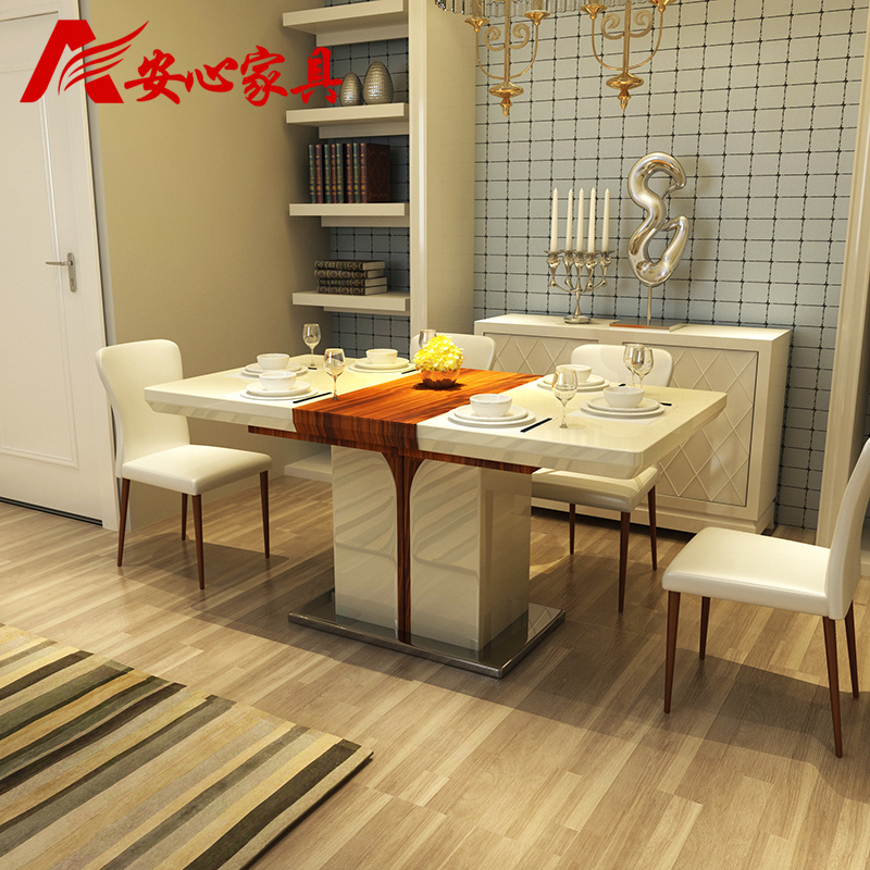 Retractable Gl Dining Table