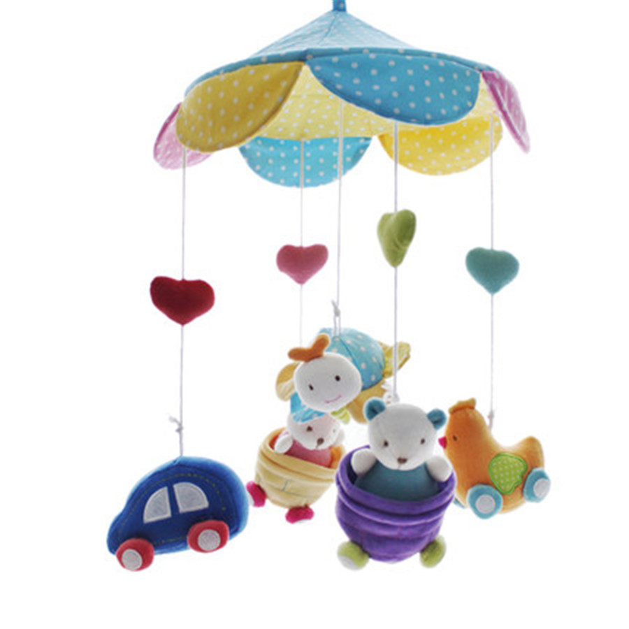 Musical Baby Toys : Musical toy for baby bed wind bell months miniature