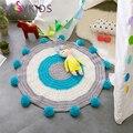 Kids Baby Play Mats Toys Rugs Large rawling Mat Carpet Portable kids Toys Handmade wool carpets Comfortable