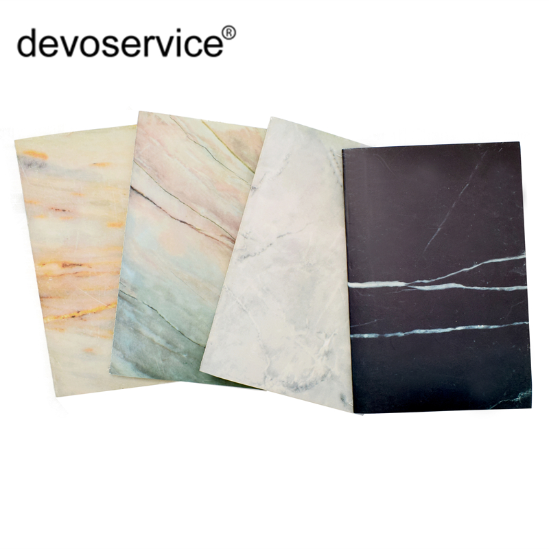 Soft Cover A5 Marble Notebook Lines Traveler's Journal Plann