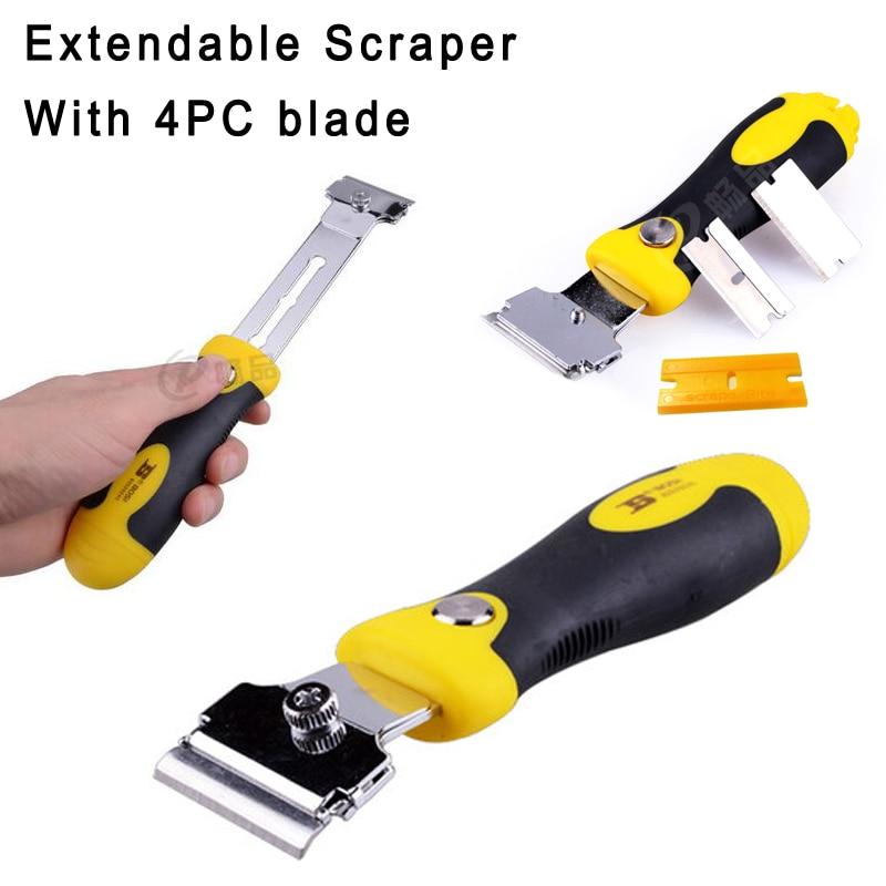 BOSI Multipurpose Extensible Floor Window Wall Razor Putty Knife Scraper 5pc-set